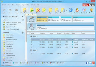 MiniTool Partition Wizard Professional Edition 9.1 cu licenta gratis